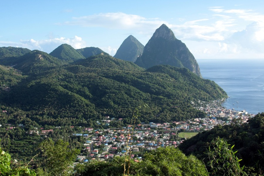 St Lucia - Top 10 beach destinations for winter sun by Luxe Beach Baby